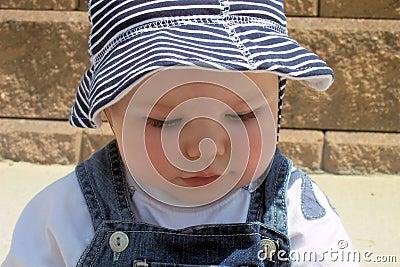 Baby close-up