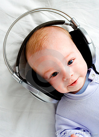 Free Baby DJ Royalty Free Stock Photography - 2108307