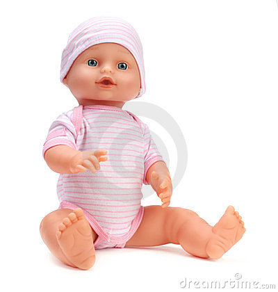 Free Baby Doll Royalty Free Stock Image - 23579026