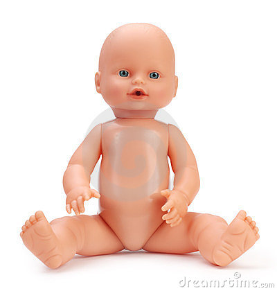 Free Baby Doll Royalty Free Stock Images - 24058419
