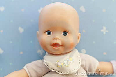 Baby doll portrait