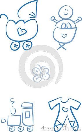 Baby Doodles: Baby Boy