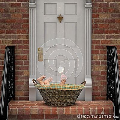Baby on Doorstep