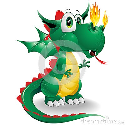 Baby Dragon Cute Cartoon