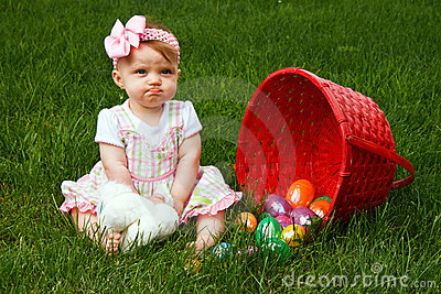 Baby Easter Eggs Frown