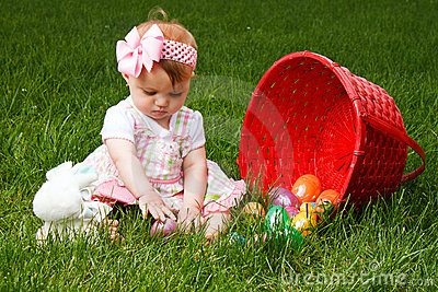 Baby Easter Eggs Play