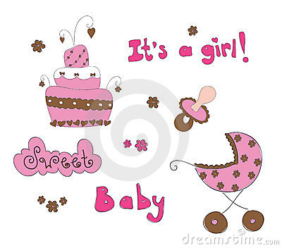 Baby elements for baby girl