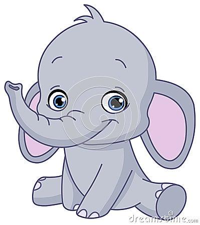 Free Baby Elephant Stock Image - 31030901