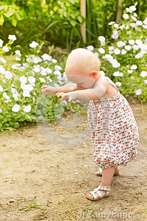 Baby first step