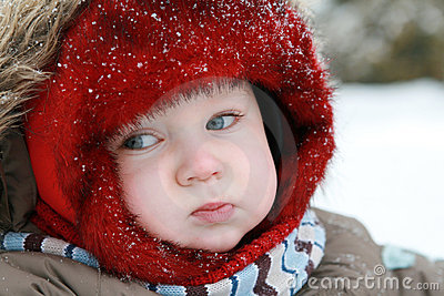 Baby first winter