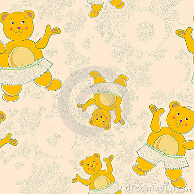 Baby floral pattern