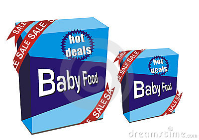 Baby food boxes