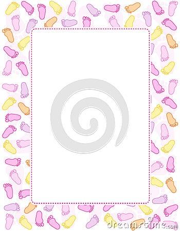 Free Baby Footprint Royalty Free Stock Photo - 17257195
