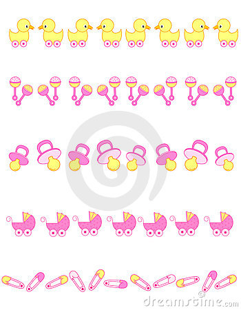Baby girl accessories dividers