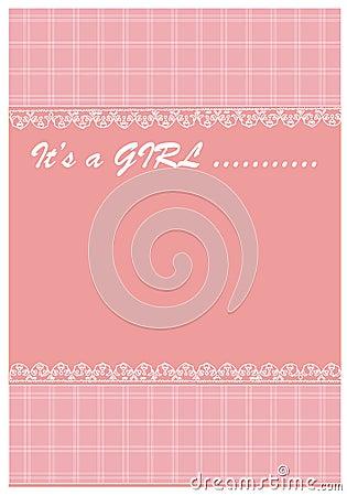 Baby girl arrives