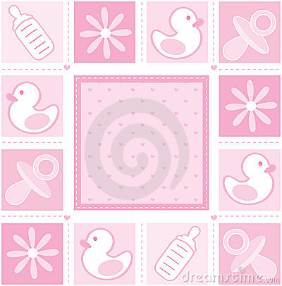 Free Baby Girl Background Stock Photography - 13002442