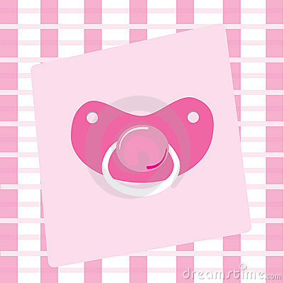 Baby Girl Pacifier