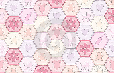 Baby girl patchwork