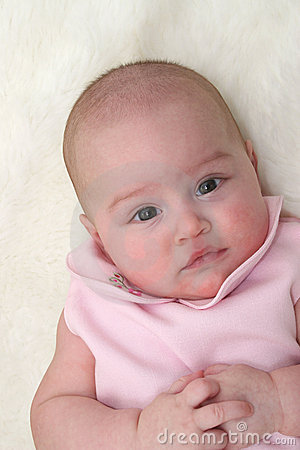 Baby Girl in Pink 01