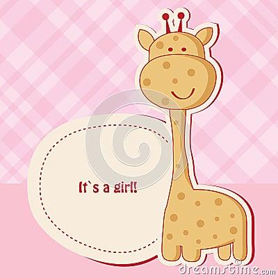 Baby Shower Giraffe In...