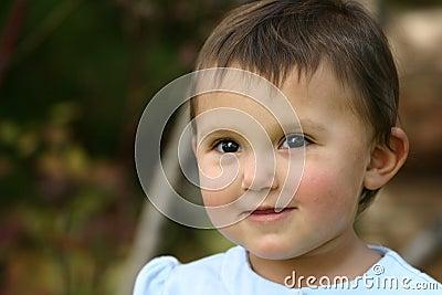 Baby Girl Toddler Eyes