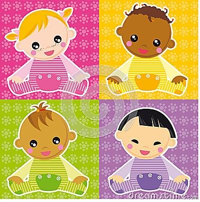 Free Baby Girls Stock Image - 5990661