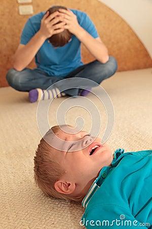 Svår barnuppfostran