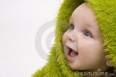 Baby In Green