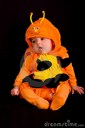 Baby in Halloween Costume 2