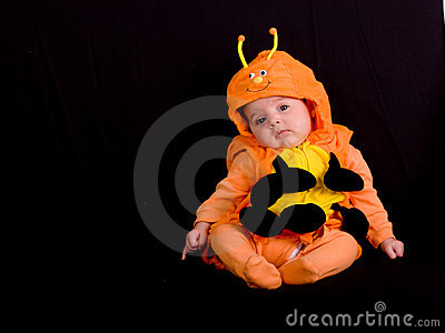 Baby in Halloween Costume 3