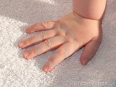 Baby hand - infant hand