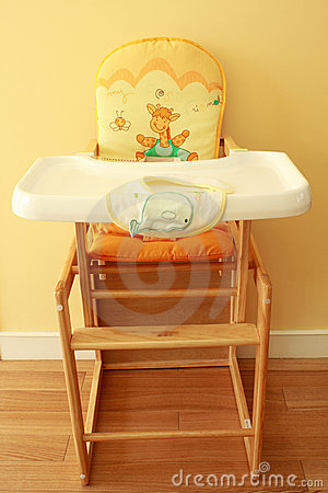 Free Baby High Chair Royalty Free Stock Photo - 14314065