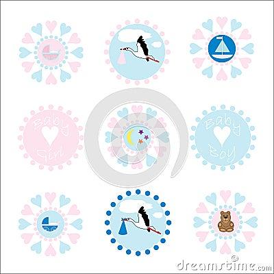Baby Icons / Logos
