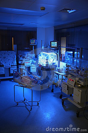Free Baby In A Hospital Royalty Free Stock Photos - 4154548