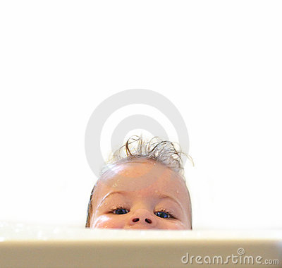 Free Baby In Bath Royalty Free Stock Photos - 1563688