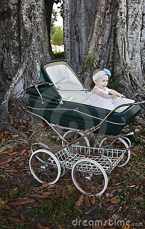 Free Baby In Carriage Stock Photo - 20714110