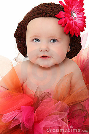 Free Baby In Tutu Stock Photography - 16172002