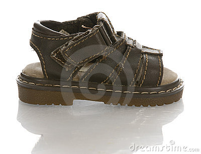 Baby or infant sandal