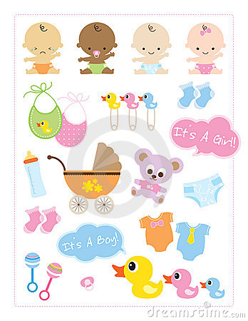 Baby Items Royalty Free Stock Photo - Image: 12270195