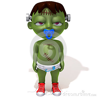 Free Baby Jake Frankenstein Royalty Free Stock Images - 47165499