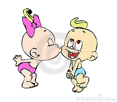 Baby Kiss Royalty Free Stock Photo - Image: 9864525