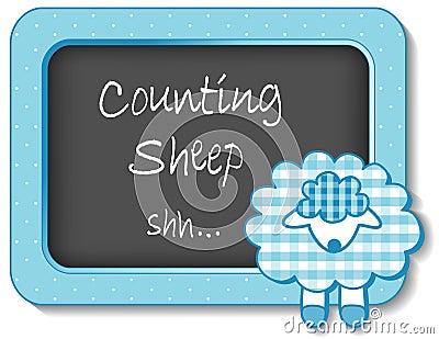 Baby Lamb Nursery Frame