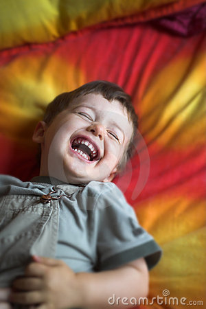 Free Baby Laughing Stock Image - 2962711