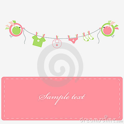 Free Baby Laundry Royalty Free Stock Images - 10155079