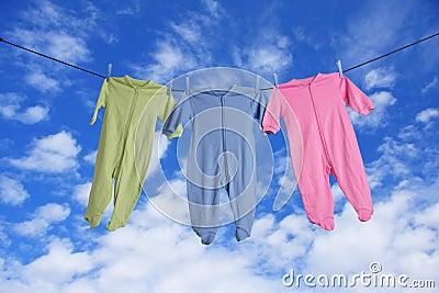 Baby laundry