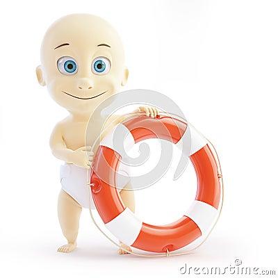 Baby lifebuoy
