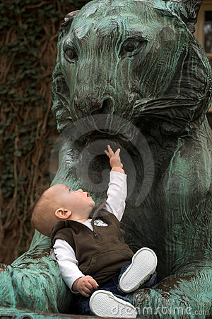 The Baby and the Lion