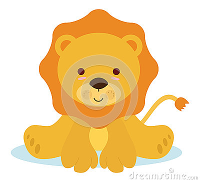 Free Baby Lion Royalty Free Stock Images - 26450919