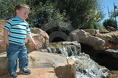 Baby in a Nature Park