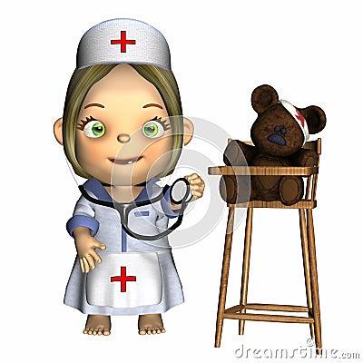 Free Baby - Nurse Stock Images - 1764744